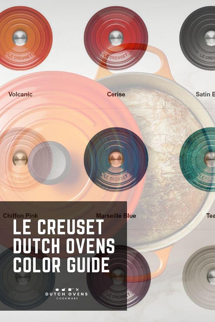 LE CREUSET COLOR GUIDE | COLORS | Dutch